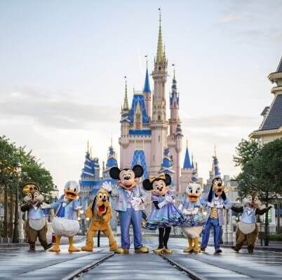 Nighttime Spectaculars and More Debut to Kick Off Walt Disney World's 50th Anniversary Celebration
