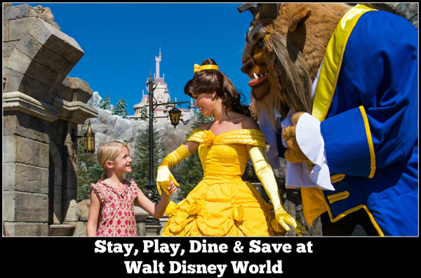Walt Disney World Vacation Package Stay, Play, Dine Offer