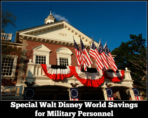 Walt Disney World Military Personnel Offer