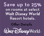 Save up to 25% on Stays this Spring at Select Walt Disney World Resort Hotels
