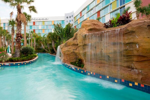 Universal's Cabana Bay Beach Resort Lazy River at Universal Orlando Resort