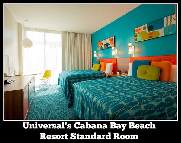 Cabana Bay Beach Resort standard Guest Room at Universal Orlando Resort