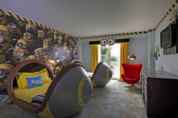 Despicable Me Kids Suites at Loews Portofino Bay Hotel