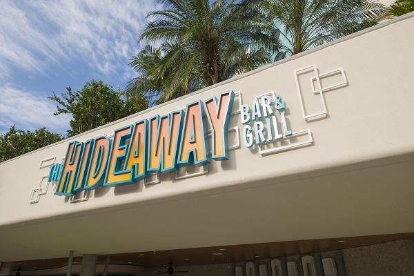 The Hideaway Bar & Grill at Cabana Bay Beach Resort