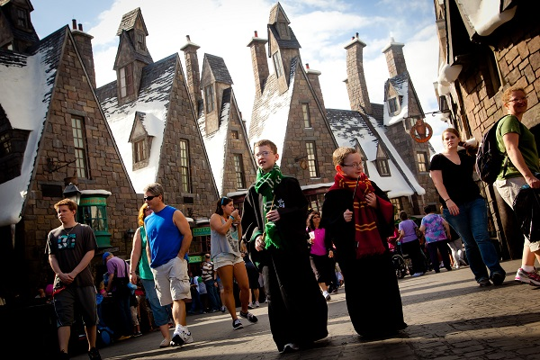 The Village of Hogsmeade at Islands of Adventure