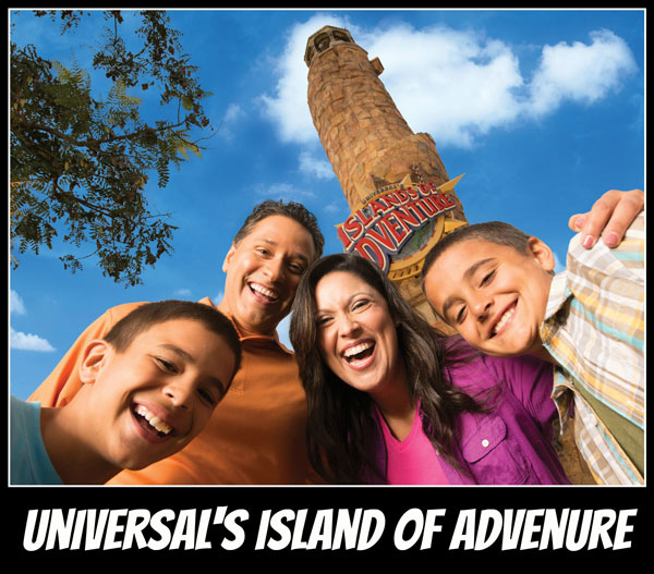 Universal's Island of Adventure Theme Park