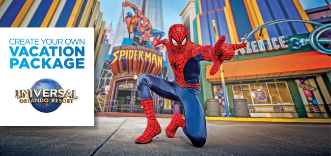 Create Your Own Vacation Package at Universal Orlando Resort