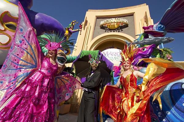 Mardi Gras at Universal Studios Florida