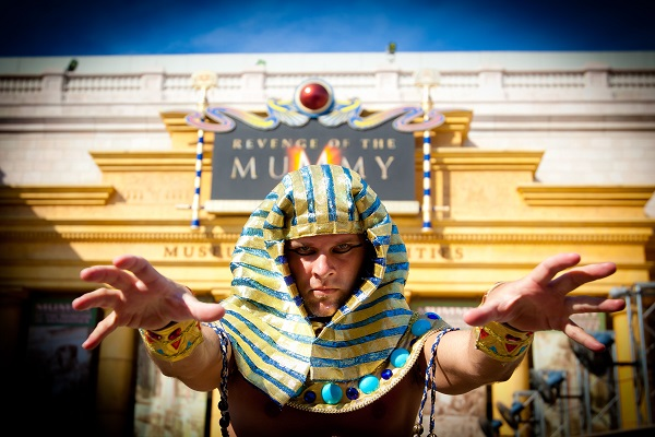 Revenge of the Mummy attraction