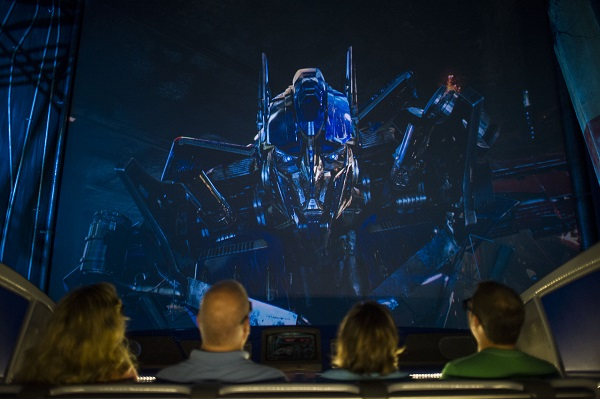 Universal Studios Florida TRANSFORMERS: The Ride - 3D