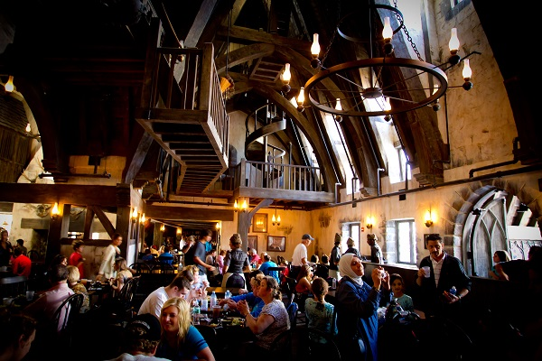 Three Broomsticks at The Wizarding World of Harry Potter