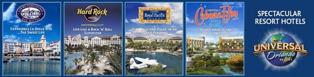 Universal Orlando Resort On Site Hotels