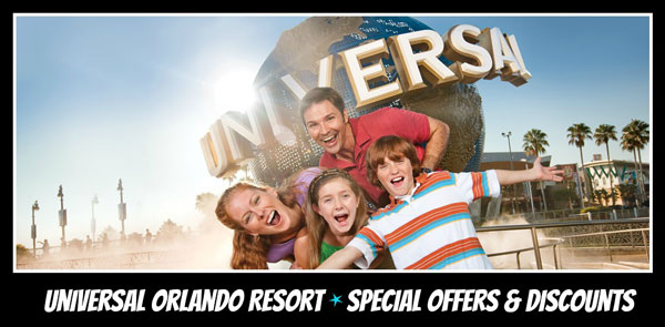 Universal Orlando Vacation Special Offers and Discounts