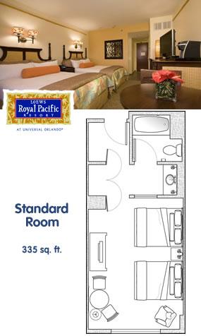 Loews Royal Pacific Resort At Universal Orlando The