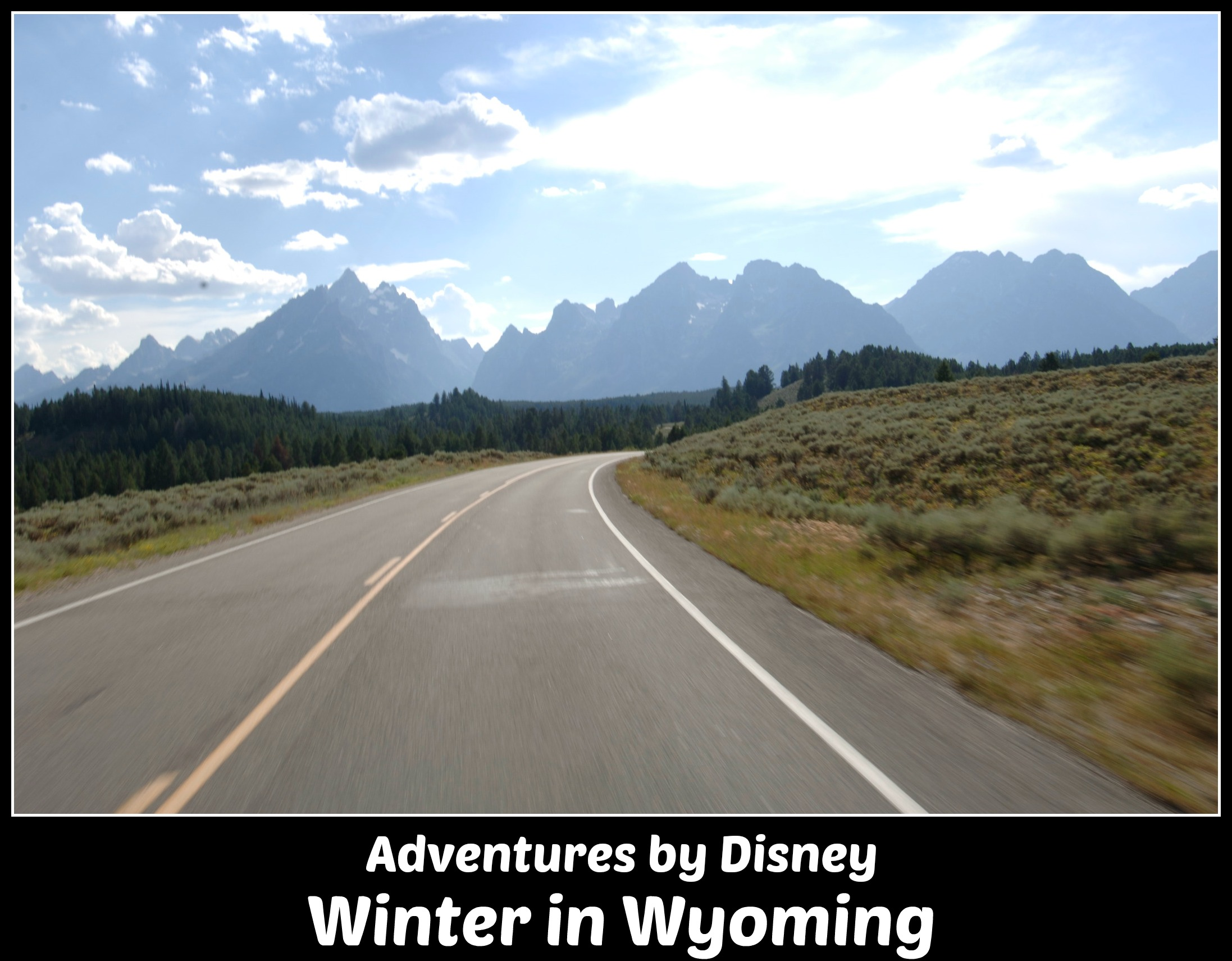 Adventures by Disney Winter in Wyoming guided tour
