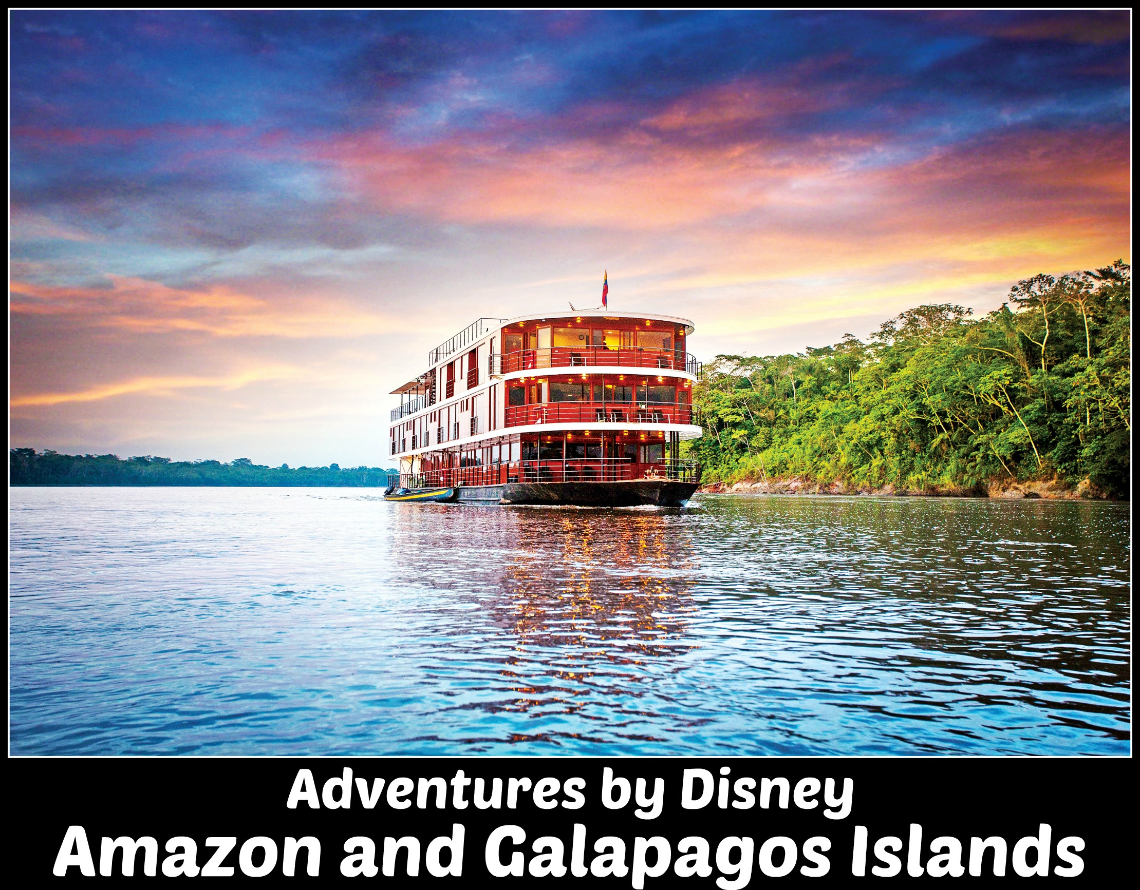 Adventures by Disney Amazon and Galapagos Guided Tour vacation