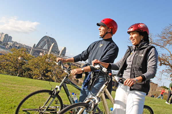 Adventures by Disney - Australia Family Vacation - Bicycling in Sydney