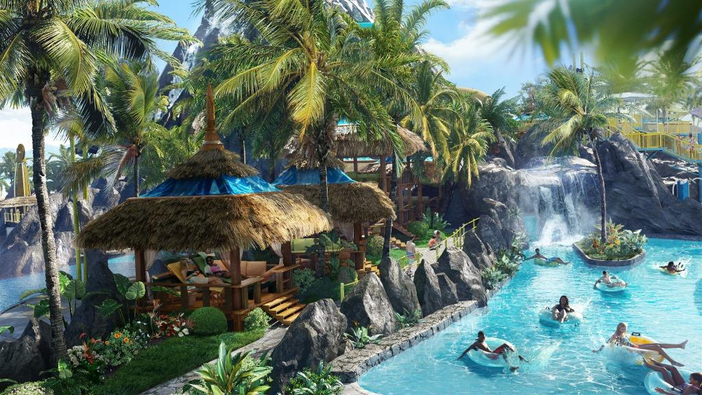 Universal's Volcano Bay Water Park Lazy River