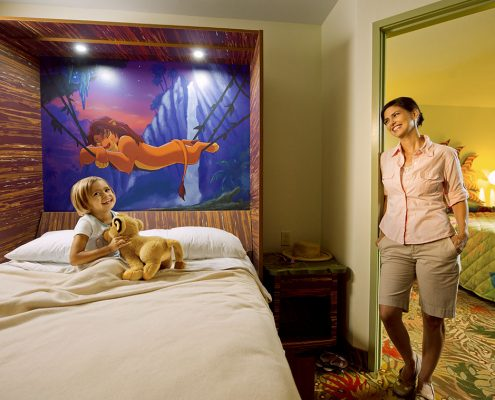 The Lion King Family Suite Inova Table Bed