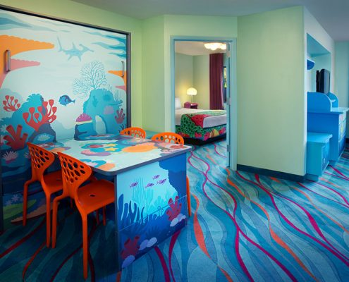 Finding Nemo Family Suite Inova Table Bed