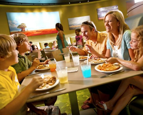 Landscape of Flavors – Quick Service Food Court at at Disney's Art of Animation Resort
