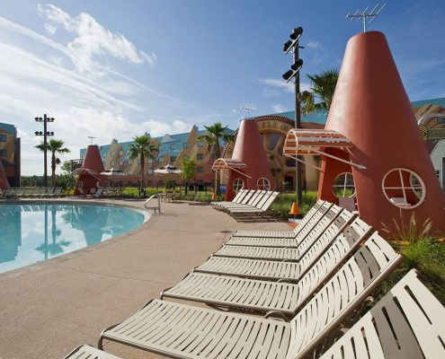 Cozy Cone Swimming Pool at Disney's Art of Animation Resort