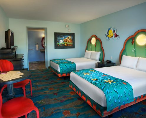 The Little Mermaid Standard Room