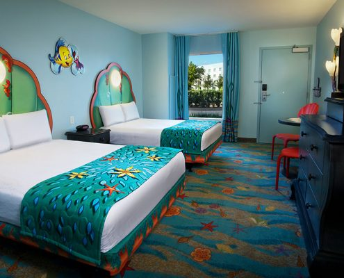 The Little Mermaid Standard Guest Room