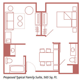 Art of Animation Resort Family Suite Layout