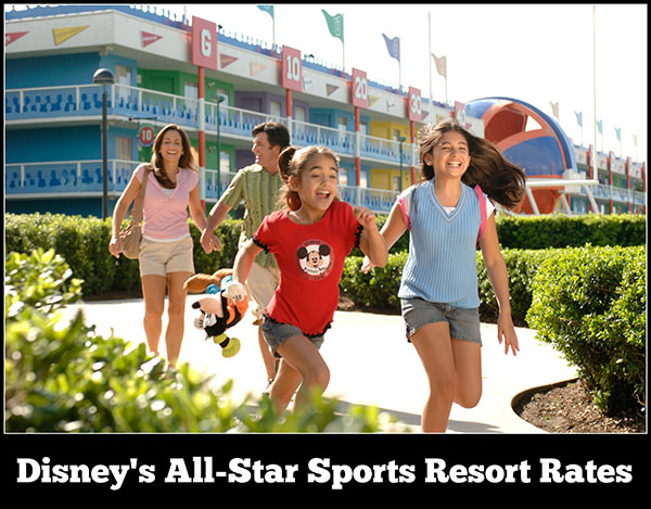 Disney's All-Star Sports Resort Rates, Room Types, and Seasonal Pricing