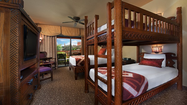 Guest Room at Disney's Animal Kingdom Lodge