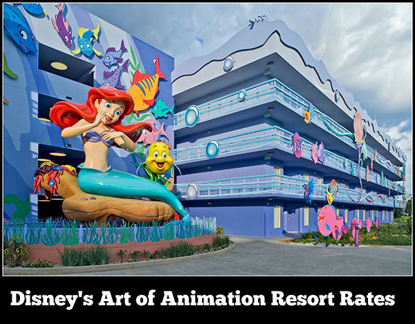 Disney's Art of Animation Resort Rates, Room Types, and Seasonal Pricing