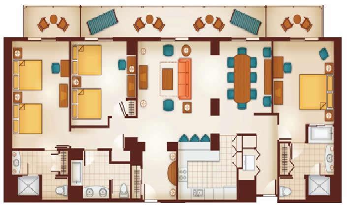 Aulani Three Bedroom Grand Villa