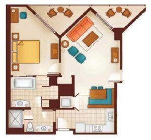 Queen Bedroom Villa Layout