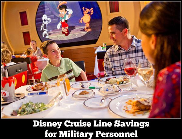 Disney Cruise Line Military Savings Disney Cruise Line Vacation Specials