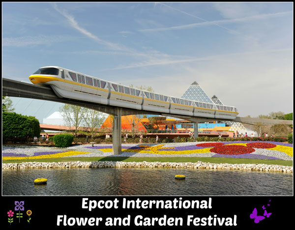 Experience the Epcot International Flower and Garden Festival at Walt Disney World