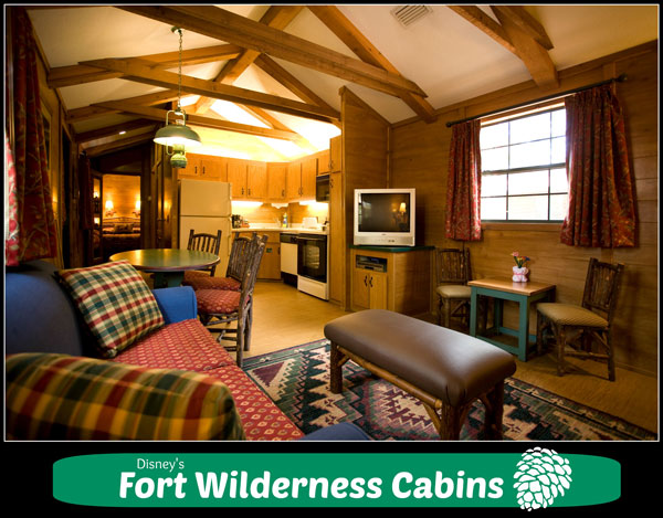Disney's Fort Wilderness Resort & Campground - room rates, photos, map, overview