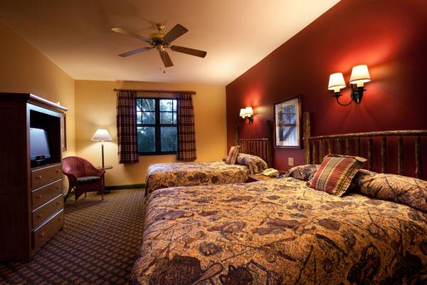 Two Bedroom Villa Second Guest Bedroom at Disney's Hilton Head Island