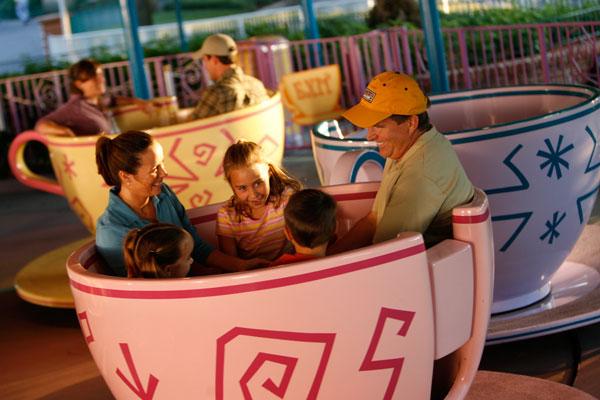 Mad Tea Party at Disney's Magic Kingdom Theme Park