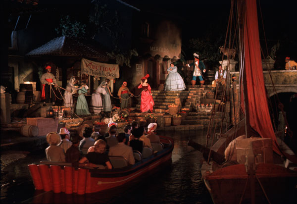Disney's Pirates of the Caribbean at Walt Disney World Magic Kingdom