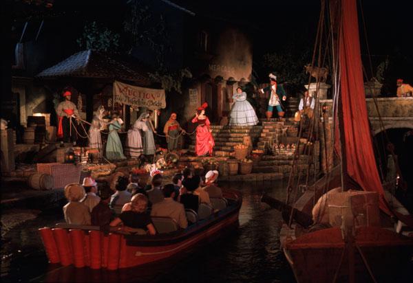 Disney's Pirates of the Caribbean at Disney's Magic Kingdom Theme Park