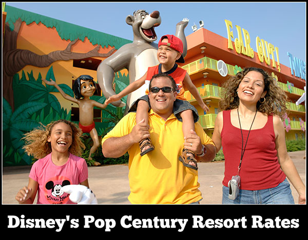 Disney's Pop Century Resort Rates, Room Types, and Seasonal Pricing
