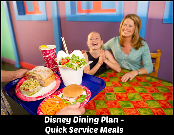Disney Quick Service Dining Plan