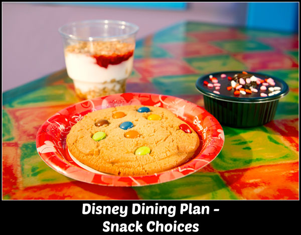 Disney Resort Hotel Package Quick Service Dining Plan Snacks
