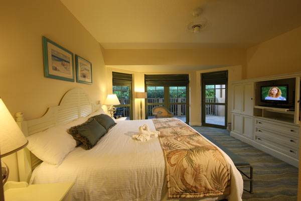 Master-Bedroom at Disney's Vero Beach Resort