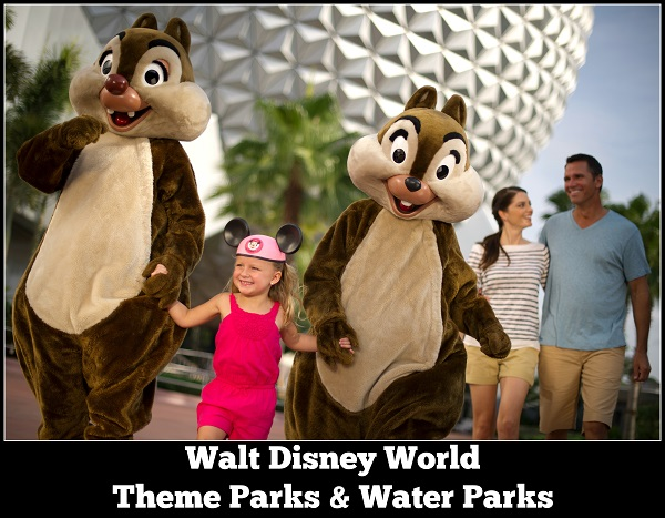 Walt Disney World Theme Park where fantasy becomes real and reality becomes fantastic as you relive childhood memories and create new ones.