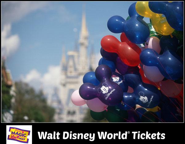 Walt Disney World Magic Your Way Tickets