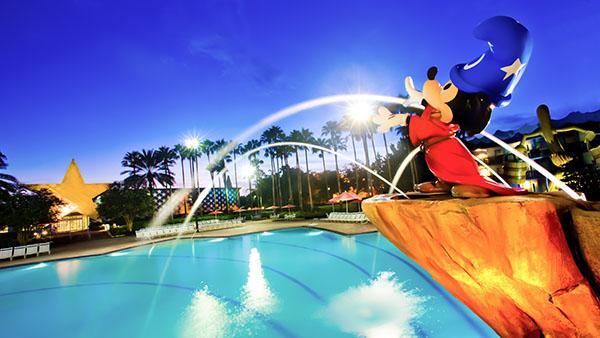 Fantasia Pool at Disney's All-Star Movies Resort