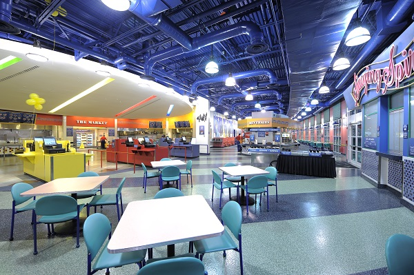 Intermission Food Court at Disney's All-Star Movies Resort