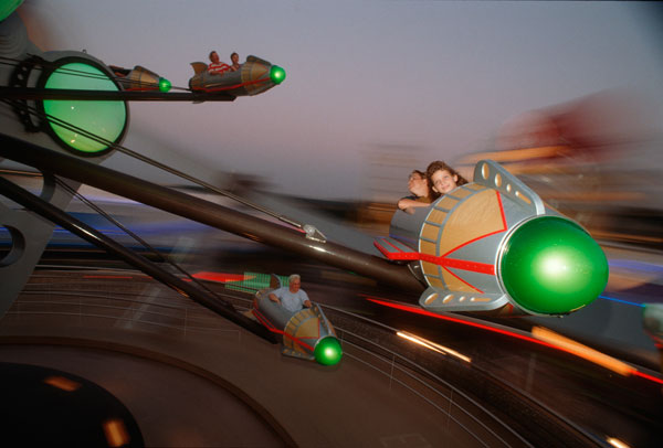 Astro Orbiter at Disney's Magic Kingdom